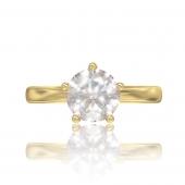Золотое кольцо Adelin для помолвки
