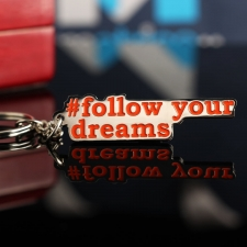 "Брелок любимым ""Follow your dreams"""