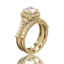 Кольцо Brigitte  для помолвки