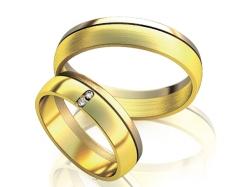 Классические парные обручальные кольца Classic