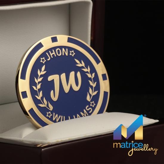 Именная покерная фишка Jhon Williams