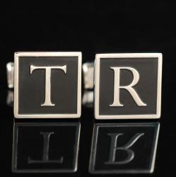 "Запонки с инициалами ""ТR"""