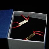 Серебряный браслет с позолотой Jamama