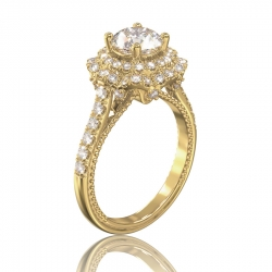 Кольцо помолвочное с бриллиантом Josefine