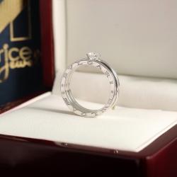Кольцо с бриллиантом Bvlgari