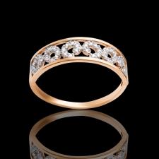 """Золотое кольцо """"Сдержанность"""""""