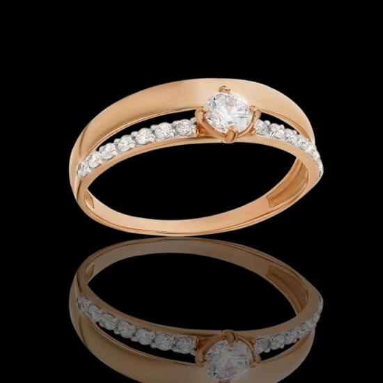 """Золотое кольцо """"Нежность"""""""