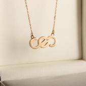 Золотой кулон с бриллиантом СЕО