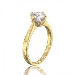 Кольцо Margo на помолвку с камнем