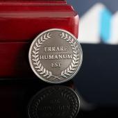 "Монета с логотипом ""Коберник"""