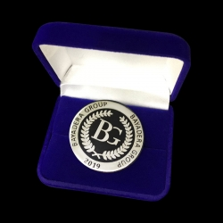 "Серебряная монета ""Баядера"""