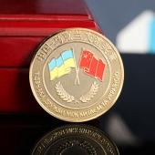 Подарочный диплом с серебряной монетой