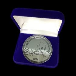 Монета с логотипом компании