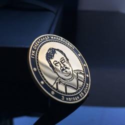 Золотая именная монета