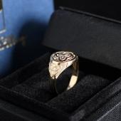Золотой перстень с кельтскими символами