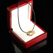 Позолоченный кулон из серебра Кольца