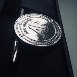 "Монета серебряная ""AR"""