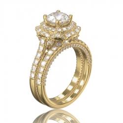 Кольцо Sofi с бриллиантом для помолвки