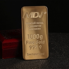 Сувенир «Слиток золота»