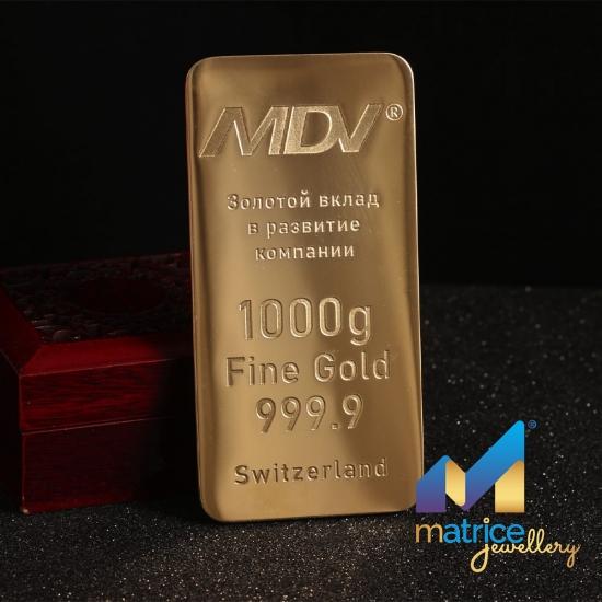 Сувенир Слиток золота