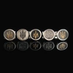 Запонки с гербом Украины
