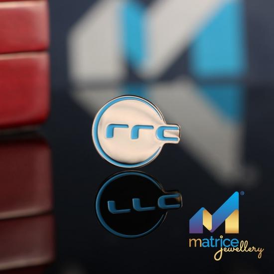 """Значок с логотипом """"rrc"""""""