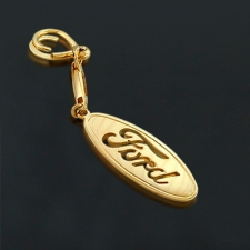 Брелок из золота Ford